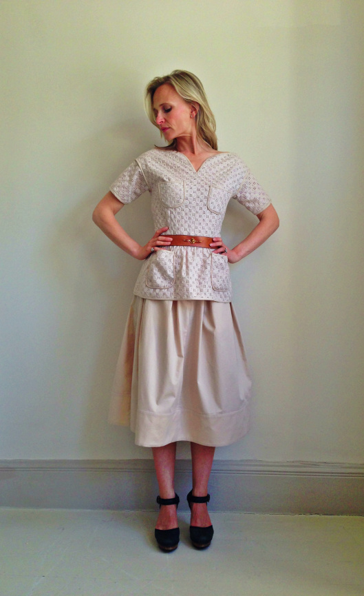 The Grace top and the Audrey skirt. Photo source: MasonBentleyStyle