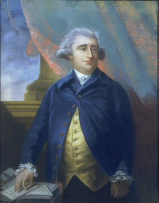 Charles James Fox wearing buff and blue. Photo credit: historicalportraits.com